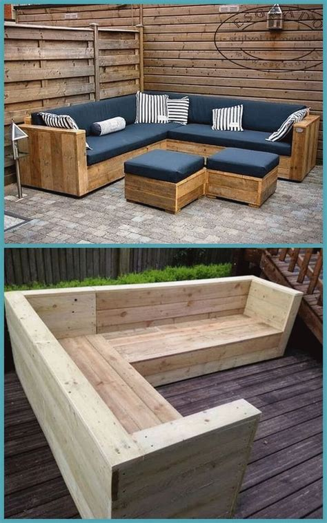 Diy Wood Pallet Outdoor Furniture Projects