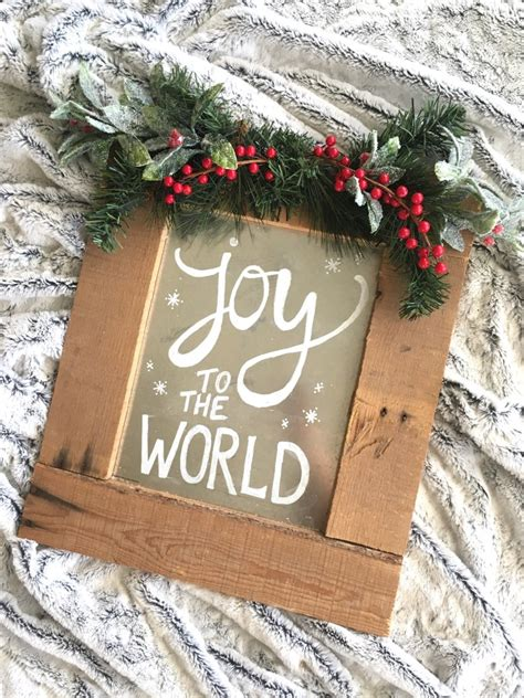 Diy Wood Pallet Signs For Christmas