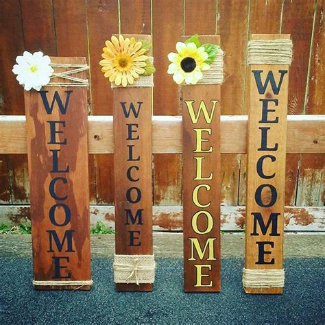 Diy Wood Pallet Welcome Sign