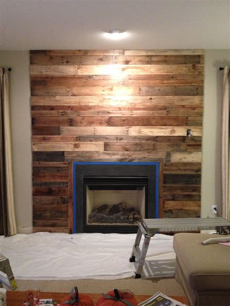Diy Wood Panel Fireplace Surrounds