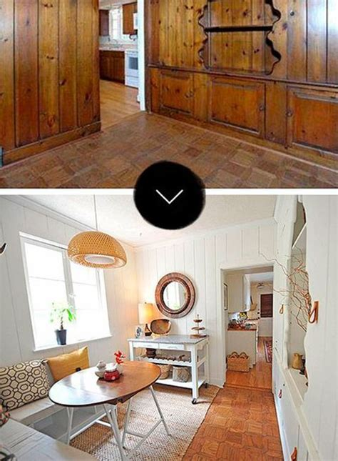 Diy Wood Paneling Makeover Pictures