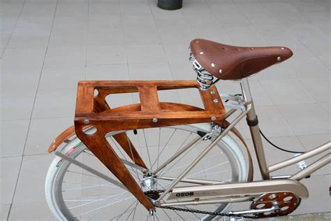 Diy Wood Pannier Rack Bicycle Carrier