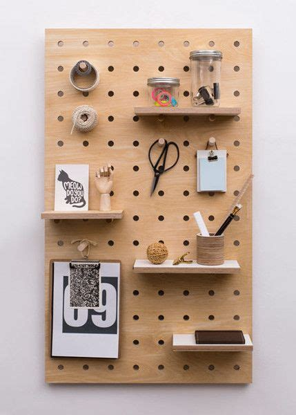 Diy Wood Pegboard Panels