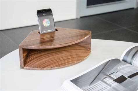 Diy Wood Phone Amplifier