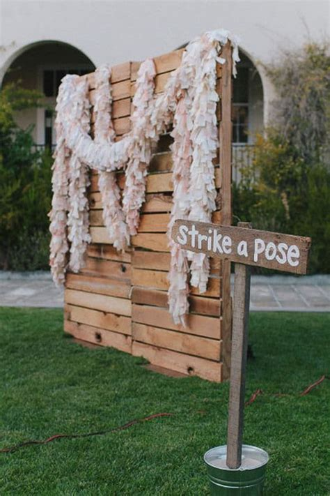 Diy Wood Photo Booth Backdrop