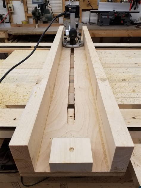Diy Wood Picture Frame Router Jig