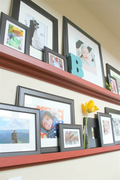 Diy Wood Picture Shelf Configurations