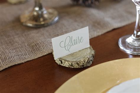 Diy Wood Place Card Holder