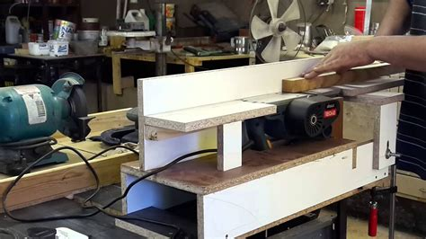 Diy Wood Planer Youtube
