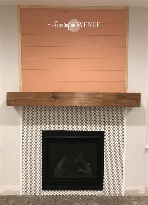 Diy Wood Plank Mantle Meaning