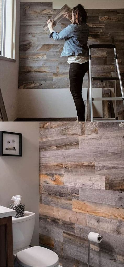 Diy Wood Plank Wall Ideas