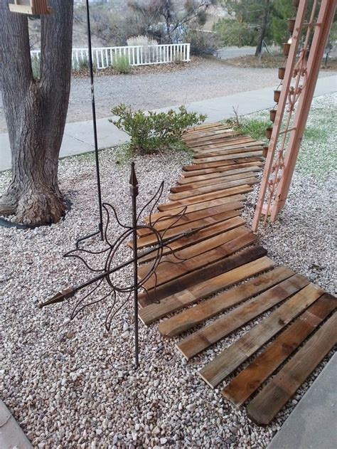Diy Wood Planks Walkway