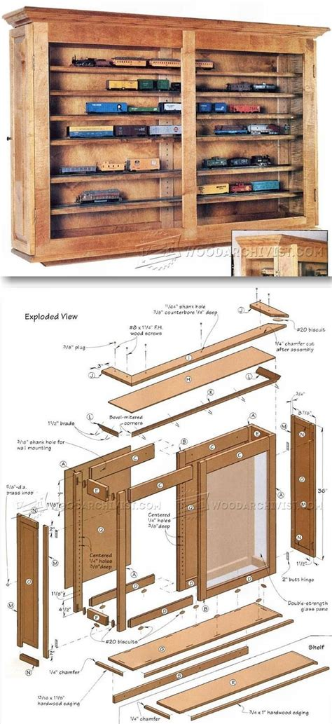 Diy Wood Plans Display Case