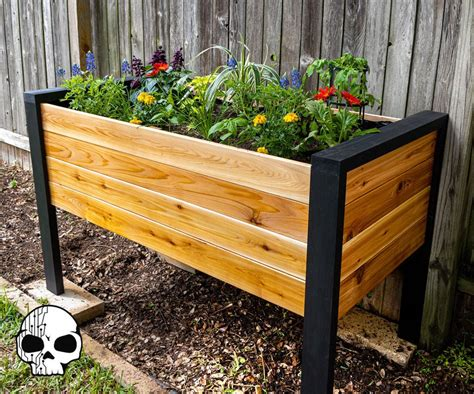 Diy Wood Planter Boxes Raised How To Make