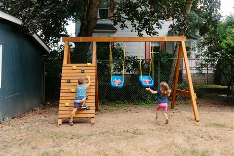 Diy Wood Playground Plans