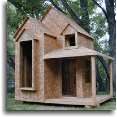 Diy Wood Playhouse Kit