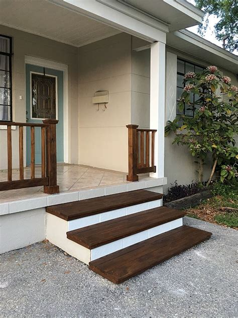 Diy Wood Porch Steps