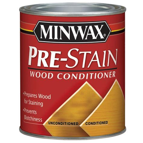 Diy Wood Pre Stain Conditioner
