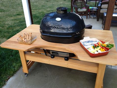 Diy Wood Primo Grill Stand