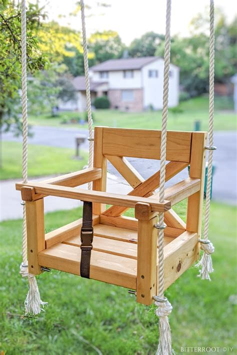 Diy Wood Projects Baby Toddler Swing