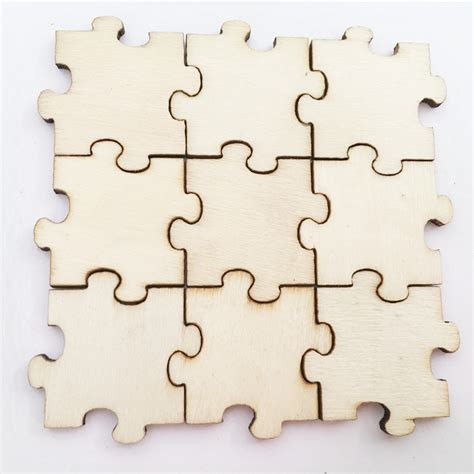 Diy Wood Puzzle Pieces