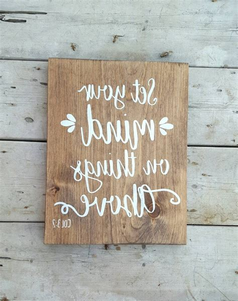 Diy Wood Quote Wall Art