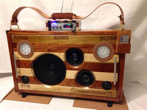 Diy Wood Radio 1300