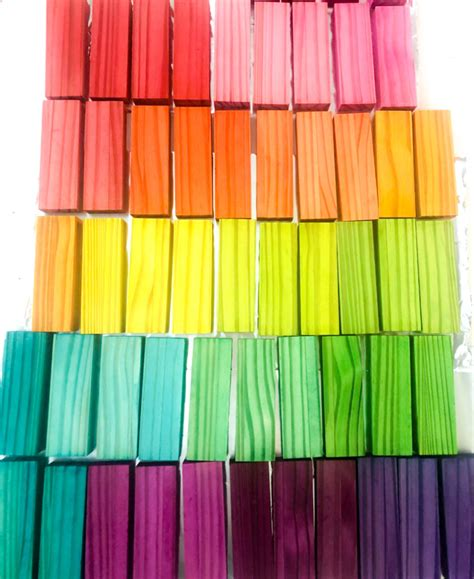 Diy Wood Rainbow