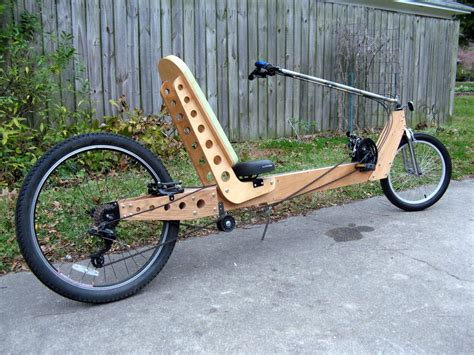 Diy Wood Recumbent Trike