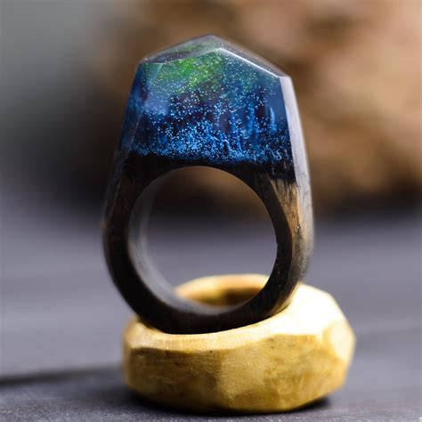 Diy Wood Resin Ring With Northern