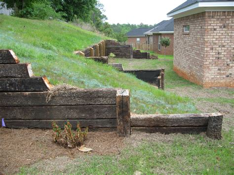 Diy Wood Retaining Wall Railroad