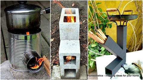 Diy Wood Rocket Stove