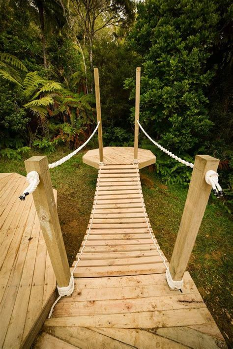 Diy Wood Rope Bridge