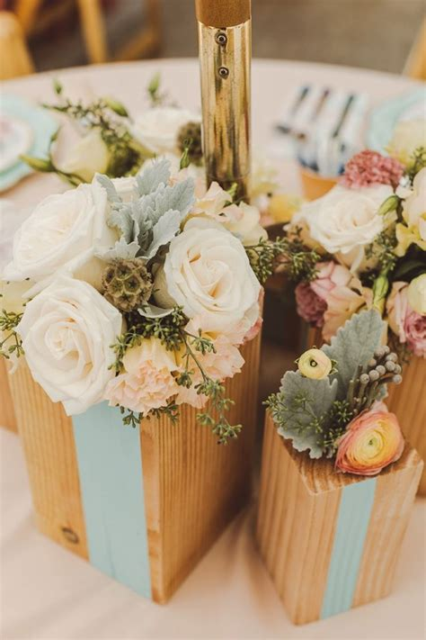 Diy Wood Round Centerpieces With Baby