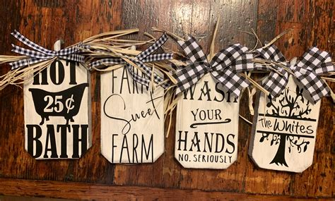 Diy Wood Round Ornaments From Dollar