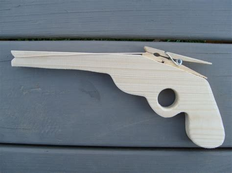 Diy Wood Rubber Band Gun Pattern