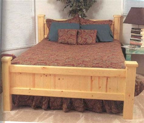 Diy Wood Sample Bed Frame