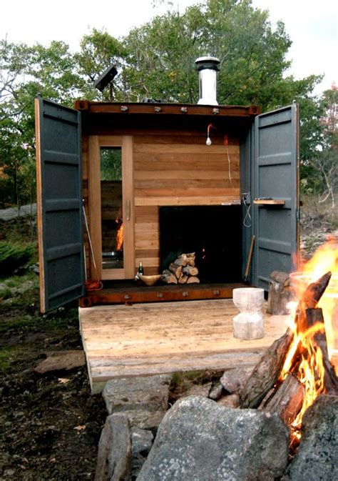 Diy Wood Sauna Blueprint