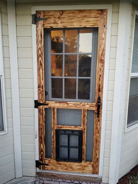 Diy Wood Screen Door For Slider
