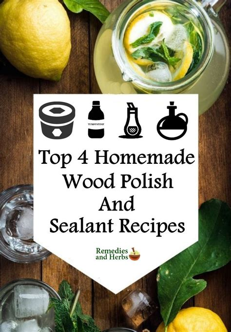 Diy Wood Sealant Recipe