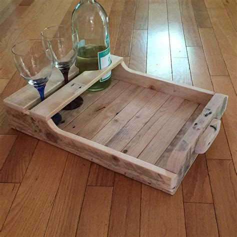 Diy Wood Serving Tray For Recliner