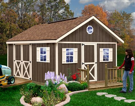 Diy Wood Sheds Kits
