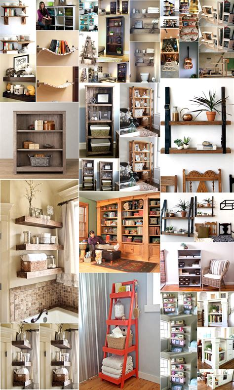 Diy Wood Shelves Designs