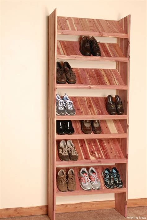 Diy Wood Shoe Shelving For Closets