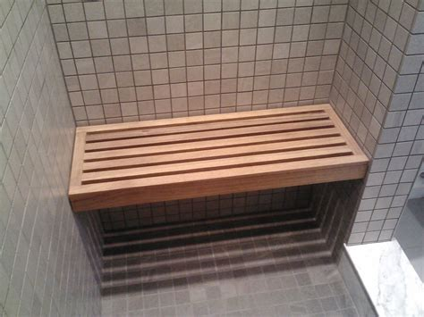 Diy Wood Shower Bench