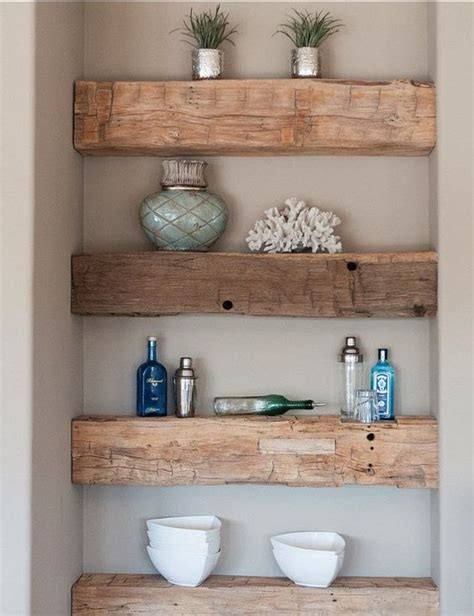 Diy Wood Shower Shelf