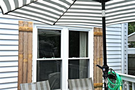 Diy Wood Shutters From Fencing