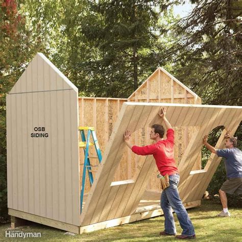 Diy Wood Siding Shed
