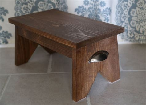 Diy Wood Single Step Stool
