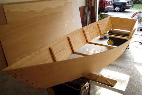 Diy Wood Skiff